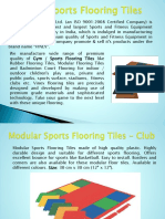 Rubber Flooring Tiles Manufacturer, Supplier & Exporter