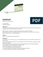 Prospect Carbocit