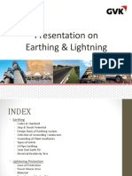 Presentation on Earthing & Lightning