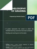 Philosophy of Grading