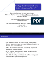 Presentation of Towards an Ontology-Based Framework for a Behavior-Oriented Integration of the IoT