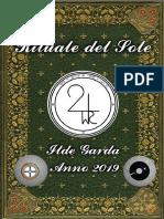 Rituale Del Sole a Cura Di Ilde Garda Anno 2019 1