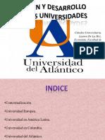 Origen y Desarrollo de Las Universidades