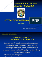 4º Interaccciones Farmacodinamicas 1