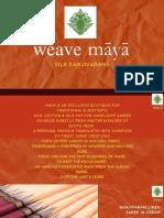 Silk Kanjivarams Linen Sarees by WeaveMaya