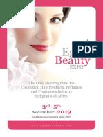 Brochure Egy Beauty Expo 2019