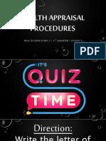 lesson5healthappraisalprocedures-180722062522