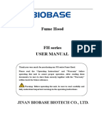 User Manual-FH Series Fume Hood-20170313