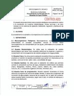 PROC.tec-002 Recolección de Muestras AP v.07