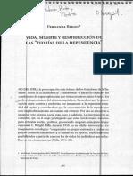 Vida, Muerte y Resurrección de Las Teorías de La Dependencia - Fernanda Beigel