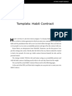 Habit Contract