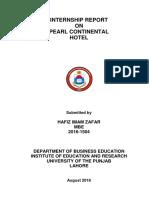 Imam Internship Report