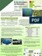 III Jornada de Produção Científica da Região SUL - Biodiesel a partir de microalgas, uma ideia que deu certo - POSTER