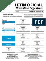 34133 Boletin 11-06-2019 Seccion Cuarta