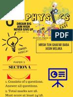 Physics Paper 3 Spm