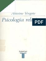 Antoine Vergote. Psicología religiosa..pdf