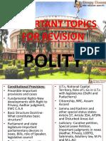 Polity Topics to revise .pdf