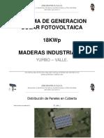 Proyeccion Sgsfv 18kwp Maderas Industriales
