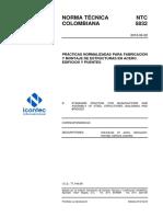 Ntc 5832 Norma Fabricacion y Montaje Acero (1)