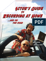 Actors Guide to Recording at home