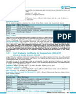 Acupunture PG Certificate Course