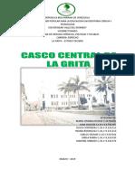 Contexto Geográfico de La Grita. Indira Rodríguez
