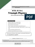 11th Science Mht Cet Triumph Physics Mcqs