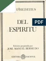 Helvétius, Claude-Adrien - Del espíritu [Editora Nacional, 1984].pdf