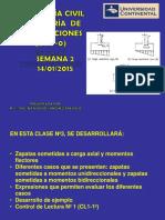 PRE2.Ing de Cimentaciones- Semana 2