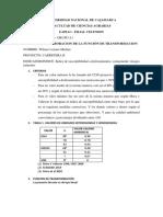 Informe de Funcion de Transformacion