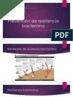 Prevención de Resistencia Bacteriana