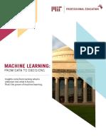 Machine Learning Curriculum Berkley