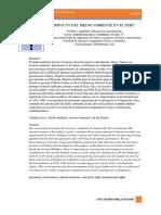 articulo sobre el impacto ambiental en el peru