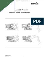 Manual Komatsu Pc8000 Shovel Excavator General Assembly Procedure Mounting Install