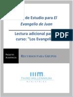 Guía de Estudio, El Evangelio de Juan.pdf