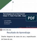 Clase 11 UML Especificacion