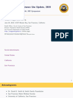 San Francisco Substance Use Update, 2019 - The Annual David E. Smith, MD Symposium