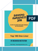 100 Most Important Banking Awareness