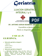 Conferencia No. 6 Valoracion Geriatrica Integral.