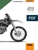2013 KTM 350 XC-F Service Repair Manual