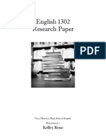 ENGL 1302 Research Packet