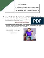 Operacoes MMC Porcentagem Potenciacao