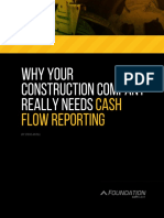 Why Your Construction Company Really Needs Cash Flow Reporting