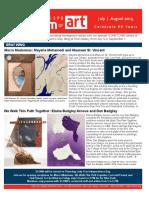 SLOMA ArtNews July & August 2019