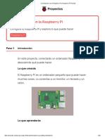 Comenzando Con La Raspberry Pi _ Raspberry Pi Projects