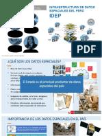 Induccion a Infraestructura de Datos Espaciales Del Peru (Webinar)