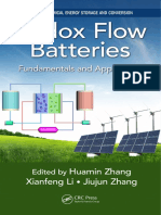 (Electrochemical Energy Storage and Conversion) Huamin Zhang, Xianfeng Li, Jiujun Zhang - Redox Flow Batteries_ Fundamentals and Applications-CRC Press_Taylor & Francis (2018).pdf