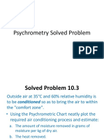 Psychrometry Solved Problem