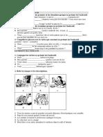 Examen Primer Trimestre Frances Grammatica