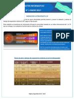 Boletin Radiacion Uv 2017
